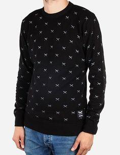 iriedaily - Flag X Allover Knit black