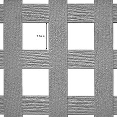 x 8 ft. White Privacy Square Vinyl Lattice - Framed - 73004051 - The Home Depot Vinyl Lattice Panels, Decorative Screen Panels, Lattice Patio, Square Lattice, Outdoor Curtains, Outdoor Fabric, Backyard Projects, Outdoor Projects, Plastic Lattice