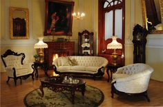 Victorian:  #Victorian parlor.