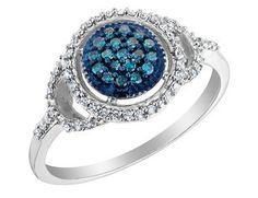 love blue diamonds