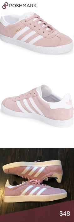 best authentic 70183 748c8 Brand New Adidas Gazelle in Pink Size 9.5 Brand new adidas Gazelle suede  sneakers in pink