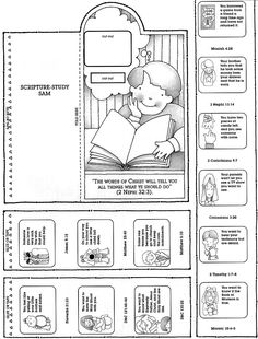 Scripture Study Sam - Using scriptures to answer life's problems for kids.