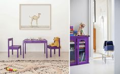 Pantone's Colour of the Year 2018 Ultra Violet in Kids' Rooms