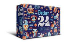 """Campaña de verano """"Pack 24"""" de la cerveza Becker en Chile."""