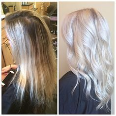 shades icy blonde and redken shades eq on pinterest