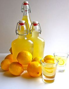 Meyer Lemon Liquor Life is a Hammock Homemade Liquor, Homemade Syrup, Limoncello, Fun Drinks, Yummy Drinks, Beverages, Meyer Lemon Recipes, Lemon Liqueur, Meyer Lemon Tree