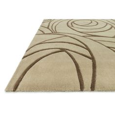 Hand-tufted Chalice Beige Rug (7'9 x 9'9)   Overstock.com Shopping - The Best Deals on 7x9 - 10x14 Rugs