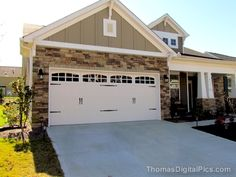 2 car carriage garage door with 2 sets of handles | Garage Door Upgrade