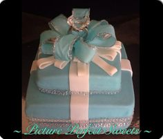 Tiffany Themed Engagement
