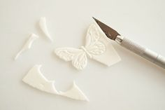 Gumpaste Butterflies  Cake Journal