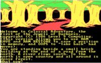 "Colossal Cave Adventure - ""You are in a maze of twisty little passages, all alike"""