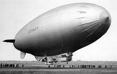 Operations of K-ships in tropical regions had shown a need for a blimp ...