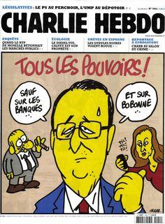Charlie Hebdo 1044 Juin 2012