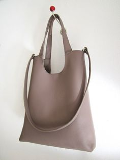 leather bag Tokyo sun L cowleather taupe and by moniaherbst 1183d2e3ed792