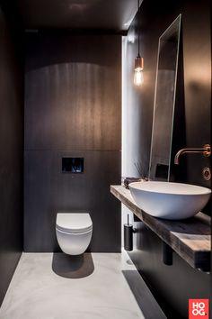 Luxe toilet met wasbak | badkamer ideeen | design badkamers | bathroom decor | Hoog.design