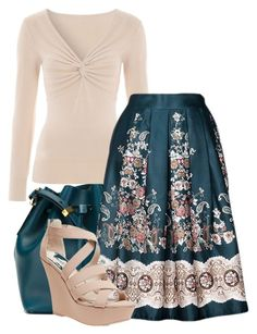 """Vintagely"" by secretsoftheslytherin ❤ liked on Polyvore featuring мода, Sophie Hulme, Jane Norman, Wet Seal и vintage"