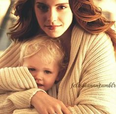 Hermione & Scorpius Malfoy, she is his godmother