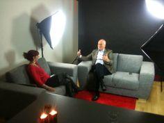 Studieinterview. Det var et mega hyggeligt interview med resultatskaberen Rolf Høegh. Og sjovt.