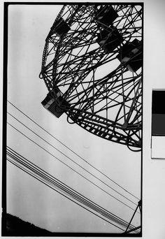 Walker Evans. Wonder Wheel Ride & Cables, Coney Island NY 1928-29
