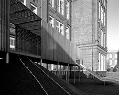 The Chisenhale Primary School Playground by Asif Khan in East London, UK
