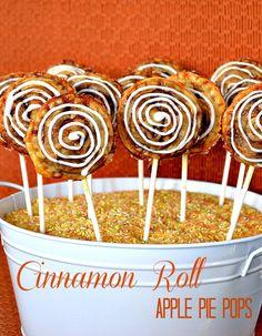 Cinnamon Roll Easy Cake Pops