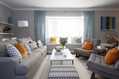 Julie & Nick's LIVING ROOM REVEAL   Buying & Selling