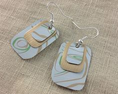 Nespresso apfelstruddel earrings