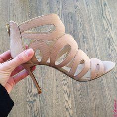 spring 2015 shoe trends - cut outs   Nine West Heels