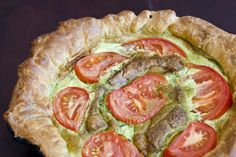 A slightly different but equally delicious Fresh Tomato Tart