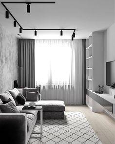 Idea for a delicate white interior design Condo Interior, Living Room Interior, Home Decor Bedroom, Home Interior Design, Elegant Living Room, Living Room Grey, Home Living Room, Living Room Decor, Ceiling Design Living Room