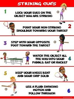 PE Poster: Striking Cues