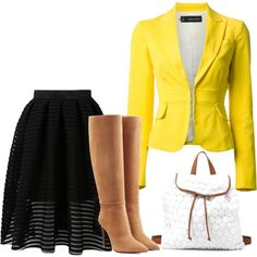 blazer by gessilene-ferreira on Polyvore featuring moda, Dsquared2, Ralph Lauren Collection and Charlotte Russe