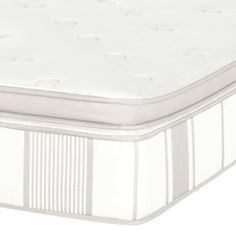 Count REMs instead of sheep: this state of the art Euro box top mattress combines the newest technology with luxury materials for the ultimate in deep, restful sleep. Superior to a pillow top mattress, the flat box top provides an even sleeping surface right up to the mattress edge. Its plush memory foam top also relieves painful pressure points on the body. A thick cushion box top pad is stitched to an innerspring mattress with 480 - 1024 independently encased coils to provide back support…