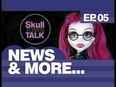 Monster High Doll Show | Skull Town Talk Show | EP 5 News & More...