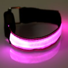 LED Safety Reflective Sports Armband Flashing Belt Strap Wrist Arm Wrap Band Running Cycling