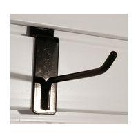Handi Solutions HSHS04B, Slatwall 4in Proj Single Hook, Handi Solutions Accessory, Garage Organization