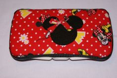 Minnie Mouse Covered Baby Wipes Case Baby by Sweetstylesstore, $10.00