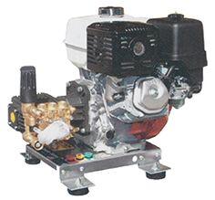 Cat Pump / AR Pumps / Honda Gas Engine Pressure Washer Direct Drive:: MAX 3.0 GPM @ 4200 PSI, AR or CAT Pump, Skid Models - Dultmeier Sales