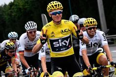 Chris Froome (Team Sky) Wins his 4th Tour in 2017