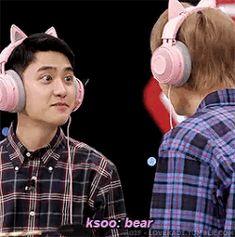 Cre: the owner/as logo Kaisoo, Chanbaek, Kyungsoo, Chanyeol, Exo Do, Do Kyung Soo, Beautiful Boys, Korea, Kpop