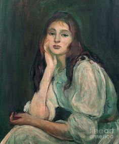 Julie Manet, August Renoir, Tableaux Vivants, Berthe Morisot, Portraits, Portrait Paintings, Thing 1, Learn Art, French Art