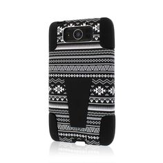 MPERO IMPACT X Series Kickstand Case for Motorola DROID MAXX / DROID ULTRA XT1080 XT1080M - Black Aztec:Amazon:Cell Phones & Accessories
