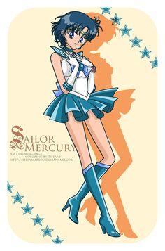 Sailor Mercury - Sailor Mercury fan Art (29062949) - fanpop