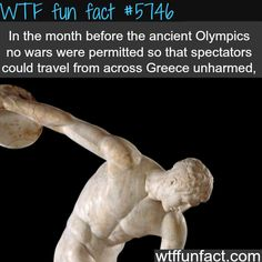 Ancient Olympics - WTF fun facts - http://thisissnews.com/ancient-olympics-wtf-fun-facts-2/