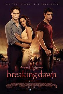 Breaking Dawn Part 1 was released on November 18, 2011.  The DVD was released on Saturday, February 11, 2012.  Part II will be released on November 16, 2012.