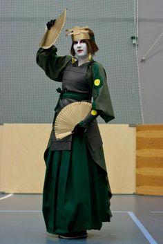 A little picture of my Suki cosplay that I wore at SVS-con! Photo by: ATLA - The Kyoshi Warrior Avatar Cosplay, Avatar Costumes, Diy Costumes, Costume Ideas, Avatar Kyoshi, Avatar The Last Airbender, Aang, Halloween Cosplay, Halloween Costumes