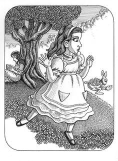 Alice & o coelho