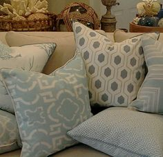 - Laguna Collection - Beach Pillows | Coastal Home Pillows