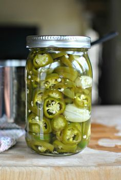 Easy Homemade Pickled Jalapenos 2  www.SimplyScratch.com