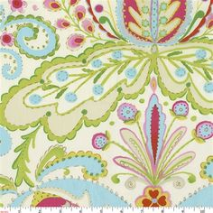 Kumari Garden Teja Fabric by Carousel Designs.